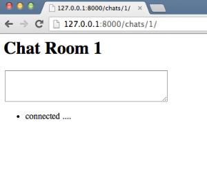 Empty chat room